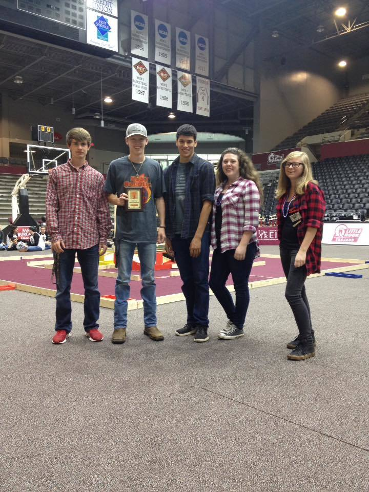 Congratulations Robotics Team!